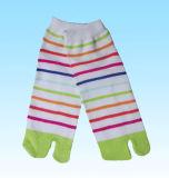 De Katoenen van de mens Sokken van Fivetoe (dl-ts-10)