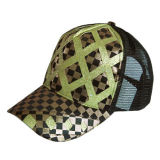 5つのパネルの調節可能な帽子、トラック運転手の帽子(JRT002)
