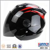 Meio capacete personalizado especial da motocicleta da face (OP201)