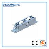 Porta deslizante do alumínio da vitrificação dobro de Roomeye em sistemas resistentes