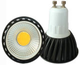 Black Aluminum를 가진 GU10 5W COB LED Lights
