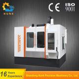 CNC機械中心を働かせるVmc600中国の高速縦の金属