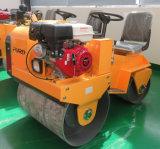 Mini máquina vibratoria del rodillo de camino de la rueda de acero para la construcción de carreteras (FYL-850S)