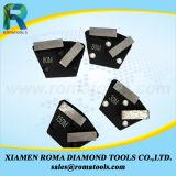 지면 갈기를 위한 단화의 Romatools 다이아몬드 가는 공구