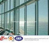 Самомоднейшее алюминиевое окно профиля UPVC/Aluminum фикчированное