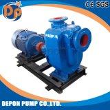 Bomba de água centrífuga Diesel de escorvamento automático do controle de inundação da água de esgoto