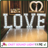 Letra de fidelidade do Hollywood Style Letter / 3D Letter Sign Lights
