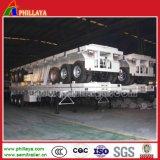 반 중국 높 침대 3 차축 40FT 콘테이너 평상형 트레일러 트럭 트레일러