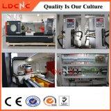 Máquina horizontal do torno do CNC da exatidão elevada de tecnologia Ck6180 avançada