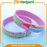 Kundenspezifischer gedruckter GummisilikonWristband