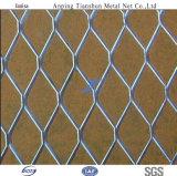 Rete metallica rivestita di Fense&Diamond di collegamento Chain di Galvanized/PVC