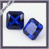 저가 실험실은 형식 보석을%s 파란 사파이어 원석을 만들었다