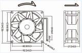 Qualität schwanzloser Gleichstrom-Ventilator 92X92X38mm für das im Freienschrank-Abkühlen