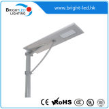 5W 15W gelijkstroom All in One Fixtures Solar Power Street Light