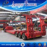 100 ton 3 de Aanhangwagen van Lowboy van Rijen, de Semi Aanhangwagen van de Vrachtwagen Lowboy voor Verkoop