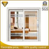 Foshan-Fabrik-Aluminiumschiebetür mit Gittern nach innen