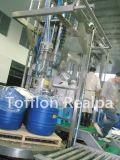 Terminar a linha de produção do suco de fruta