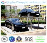 2つのレベルの簡単な持ち上がるタイプ駐車装置の駐車システム