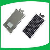 Tipo do artigo das luzes de rua e Ce, iluminação ao ar livre solar solar do diodo emissor de luz da luz de rua IP65 da certificação 12W de RoHS