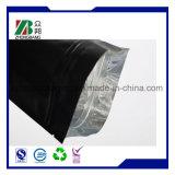 Sac de café comique mat noir de papier d'aluminium avec la tirette
