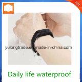 La detección del ritmo cardíaco del anillo de la muñeca de Bluetooth del teléfono móvil se divierte el reloj elegante de la pulsera