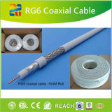 Heißes Tri Koaxialkabel des Verkaufs-RG6 des Schild-Cable/RG6