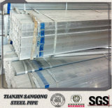 ASTM A500 gr. pipe carrée/rectangulaire Pré-Galvanisée
