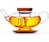 Chaleira de vidro personalizada da água do potenciômetro do chá do projeto bonito