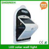 LED-Solarwand-Lampen-intelligentes Solar- u. Wand-Licht-Cer RoHS des Fühler-LED