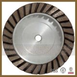 Forty-five Row cup Wheel, diamond Turbo Grinding cup Wheel