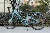 36V 250W Electric City Bike Eハイクブラシレス前部モーター女性