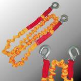 Courroie Emergency de corde de remorquage de véhicule de crochet en métal/remorquage de véhicule