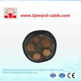 Câble flexible de cuivre de mine engainé par caoutchouc