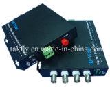 Transmisión por fibras ópticas video de Ahd&Cvi&Tvi 4 de la resolución competitiva del CH 1080P