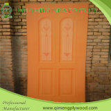 광택 있는 915X2135X2.7mm HPL Door Skin Plywood From Linyi