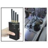 Emittente di disturbo portatile del cellulare 4-Band per il blocco del CDMA GSM 3G GPS WiFi