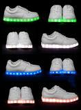 Het Laden van de Manier van de Stickers van kinderen Magische Lichtgevende LEIDENE van de Fluorescentie Schoenen
