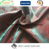 Dickflüssiger Jacquardwebstuhl Linining des 55% Polyester-45% für Klage-Umhüllungen-Mantel-Futter