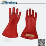 Перчатки руки низкого напряжения тока обеспеченностью низкой техники безопасности на производстве MOQ работая