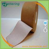 Deportes rígidos adhesivos fuertes del rayón del color de piel que atan con correa la cinta