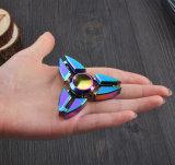 Il Rainbow Tri-Lascia il filatore di irrequietezza della girobussola di stile del piedino di granchi del filatore della mano