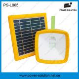 Lanterna solar portátil com rádio de FM e o carregador móvel