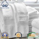 Toalla blanca del hotel/del motel/casera del algodón del baño de Terry