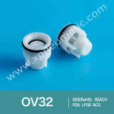 De plastic Klep van de Controle van de Douche Unidirectionele Ov32