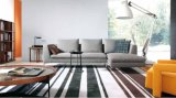 Sofá moderno de la tela de Italia de los muebles de la sala de estar