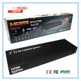 Neue Ankunft 1 16 heraus dem Teiler in des HDMI Teiler-1*16 3D 1X16 HDMI