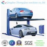 Ascenseur hydraulique automatique de stationnement de 2 poteaux