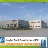 Productie en het PrefabPakhuis Jdcc1037 van de Structuur van het Staal Assembing