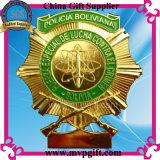 Insigne personnalisé de garantie pour le cadeau d'insigne de police