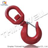 Safety Latch를 가진 위조된 G80 S322 Hoist Swivel Hook